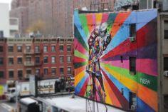 Urban love on High Line New York City