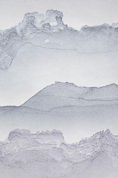 Stirring Seas Wallpaper - anthropologie.com