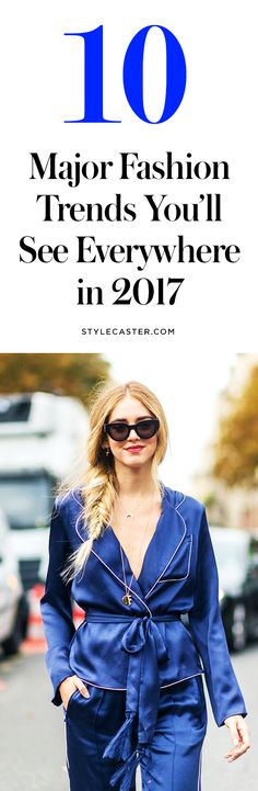 The Top 10 Fashion Trends for 2017 According to Pinterest Statistics