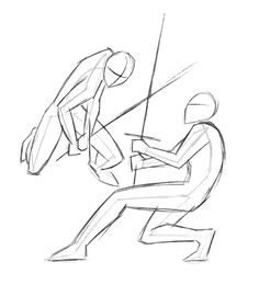 Figure Drawing Reference, Art Reference Poses, Sword Reference, Anatomy Sketches, Drawing Sketches, Drawing Tips, Fighting Drawing, Sword Poses, Anime Fight