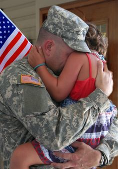 In April, we take the time to appreciate the children of military families.
