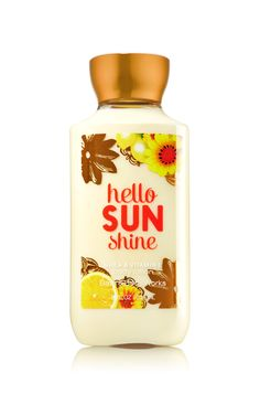 Hello Sunshine Bath & Body Works Signature Collection Body Lotion | Nature's sunniest scents sparkle in Meyer lemon, luscious tangerine & sunflower petals