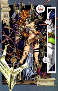 Angela Comics | Neil Gaiman Returns to Marvel Comics… and Brings ANGELA With Him?! Angela has recently gained attention as the subject of legal shenanigans between Neil Gaiman and Todd McFarlane; at the moment, both are credited as co-creators of the character. — toplessrobot.com