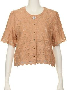 Lace Blouse / ShopStyle: [Lovedrose&Co.] 花柄レーススカラップブラウス