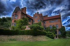 Chartwell - Winston Churchill's home in England.  Spent the day there.  Beautiful.