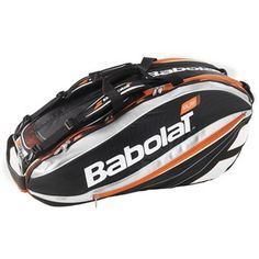 Babolat Play Tennis Bag-Orange by Babolat. Tennis Bag, Play Tennis, Babolat Tennis, Best Home Gym Equipment, Orange Bag, Rackets, Bicycle Helmet, Pure Products, Hats