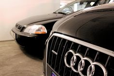 Bilder av nypolerte biler