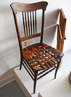 Old Belts? Create Some Interesting Pieces of Furniture! | Daily source for inspiration and fresh ideas on Architecture, Art and Design