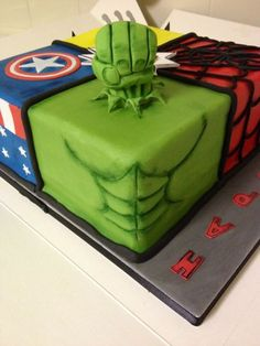 For my friends sons birthday party this weekend, I'm really pleased with the result :) xxx Sons Birthday, Birthday Parties, Marvel Cake, Superhero Cake, Caleb, Desserts, Food, Cakes For Kids, Pies