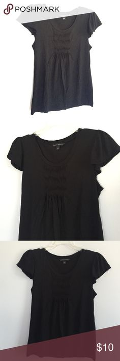 Banana Republic Black Blouse S Worn once. Excellent condition. Very cute Banana Republic Tops Blouses