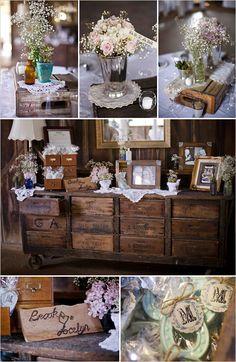 Barn wedding inspiration.