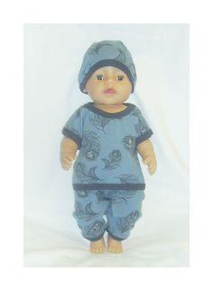 Dukkeklær til  dukke 43 cm,  ekstra tilbud