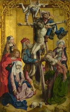The Deposition  about 1500-5, Master of the Saint Bartholomew Altarpiece