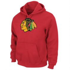 NHL Men s Chicago Blackhawks Heat Seal Long Sleeve Hooded Fleece Pullover  (Athletic Red acdf5c221