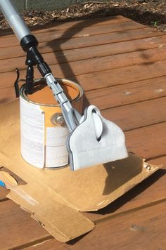 How To Stain Your Deck In Less Than An Hour