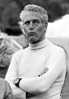 """In Pictures: Paul Newman Here is our installment of this very successful feature to """"Love Those Classic Movies! Sean Connery, Serge Gainsbourg, Steve Mcqueen, Henri Matisse, Paul Newman Robert Redford, Paul Newman Joanne Woodward, Thing 1, Portraits, Classy Men"""