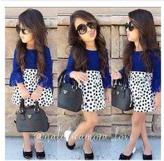 4f8ed8f928e8 Pas cher 2015 Spring Fashion Designer Roupas Infantil Meninas enfants  dentelle bleu Hauts + Dot Jupes