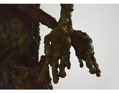 steel slave sculpture.