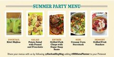 Have you used our #RRMenuPlanner to help you plan a party menu? Learn more about our visual menu planner on our blog!