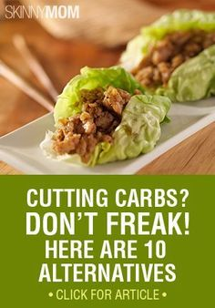 Delicious alternatives that you can eat without sacrificing calories or feeling deprived.