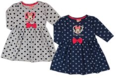 Polka Dot Top, Panda, Girls Dresses, Rompers, Dresses With Sleeves, Collection, Long Sleeve, Disney, Lei