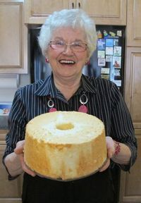This homemade angel food cake has been a family tradition for over one hundred years. Step-by-step photo essay and our prairie family angel food cake story.