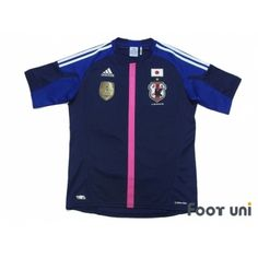Photo1: Japan Women Nadeshiko 2012 Home Shirt FIFA World Champions 2011 Patch/Badge #adidas - Football Shirts,Soccer Jerseys,Vintage Classic Retro - Online Store From Footuni Japan