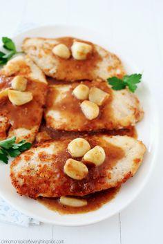 Buttery Garlic Skillet Chicken