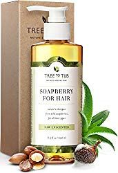 Organic Argan Oil Shampoo for Dry Hair and Scalp. The Only pH Balanced Dandruff Shampoo for Sensitive Skin, with Calming Lavender Essential Oil and Organic Wild Soapberries, oz—by Tree To Tub Unscented Shampoo, Organic Shampoo, Clarifying Shampoo, Moisturizing Shampoo, Natural Shampoo, Mint Shampoo, Best Shampoo For Psoriasis, Psoriasis Scalp, Dandruff
