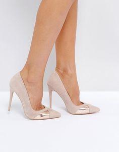 Public Desire Arno Nude Heeled Shoes