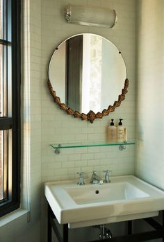 Historic Corner King | Wythe Hotel; love the mirror