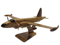 Lockheed Navy P-2 P2V Neptune Submarine Hunter ASW Wood Model Handcrafted Wooden Airplane Gift by MilitaryMahogany on Etsy