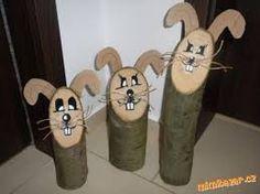 Výsledek obrázku pro velikonoční dekorace zajíc
