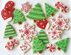 These festive sugar cookies are sure to be holiday hit with your friends and family.  Get the recipe at Glorious Treats.   - CountryLiving.com