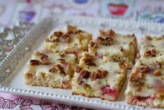 Open Café: Vaniljainen raparperipiirakka Cauliflower, Food And Drink, Bread, Vegetables, Cauliflowers, Brot, Vegetable Recipes, Baking, Breads