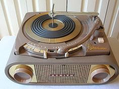 Zenith Cobra Matic 1954 All speed phonograph Radios, Platine Vinyle Thorens, Cassette Vhs, Lps, Music Machine, Vintage Records, Record Players, Phonograph, Boombox