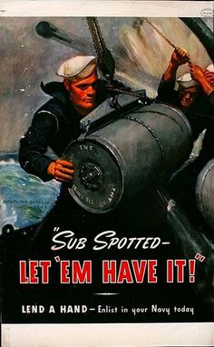 WWII Poster  - Navy