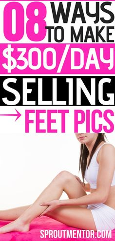 Did you know you can sell feet pics and make money online? Read this post to discover how selling pictures of your feet can make you money.