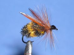 Bubble Bee dry fly tied extra bouyant