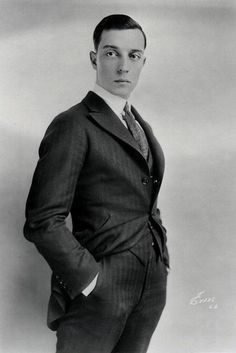 Buster Keaton - he was rather handsome, wasn't he?