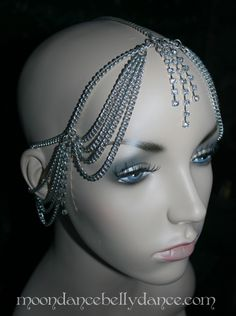 Moondance Belly Dance Head Piece Crystal