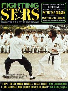 Bruce Lee Bruce Lee Books, Bruce Lee Movies, Bruce Lee Family, Karate Movies, Bruce Lee Training, John Saxon, Best Martial Arts, Enter The Dragon, Martial Artists