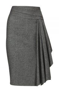 Karen Millen Bodycon Pencil Skirt Black [#kms013] - $111.70 :