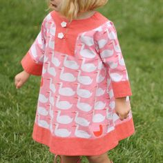 PLEASE NOTE: This pattern add-on is a digital (PDF) file. More info. Take your Charlie Tunic to a whole new adorable level by adding the Charlie Dress Add-On dr