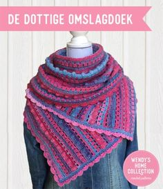 Een gratis Nederlands van een dottige omslagdoek. Wil jij deze dottige omslagdoek ook haken? Lees dan verder over het Haakpatroon Dottige Omslagdoek . Crochet Shawl, Free Crochet, Make Your Own Clothes, Crochet Patterns, How To Make, Hobbies, Fashion, Moda, Crochet Chart