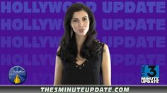 Melissa Ricci hosting Hollywood news update (French)