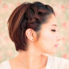 8 Workout Hairstyles For Your Training Sesh: Short Hair Don't Care. For more ideas, click the picture or visit www.sofeminine.co.uk