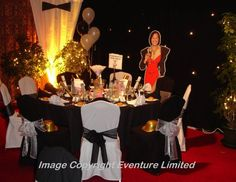 """James Bond Theme Party- And """"creating all other kinds of themed party gatherings."""" Classy no trashy! James Bond Wedding, James Bond Party, James Bond Theme, Casino Theme Parties, Casino Party, Vegas Party, Casino Night, Wedding Reception Flowers, Wedding Rehearsal"""