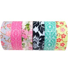 Wrapables Set of 6 Japanese Washi Masking Tape Collection Premium Value Pack, VPK2: Amazon.com.mx: Hogar y Cocina