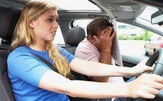 Όταν μια γυναίκα οδηγός έχει κέφια.. (video)